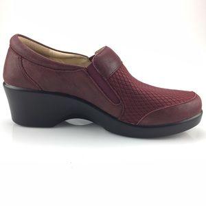 Alegria Eryn Grappa Leather Slip on